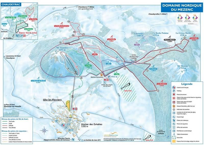 Activit s gite les pierriers les estables 43 massif du m zenc en auvergne - Office tourisme les estables ...